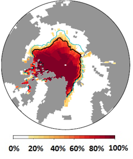 sea ice extent outlook september 2019